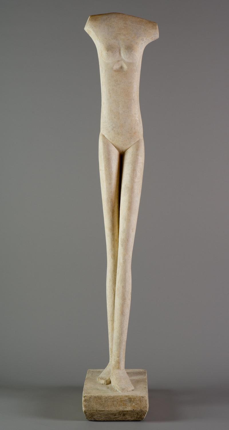 Alberto Giacometti - Femme qui marche - © Succession Alberto Giacometti (Fondation Giacometti, Paris + ADAGP, Paris) 2018