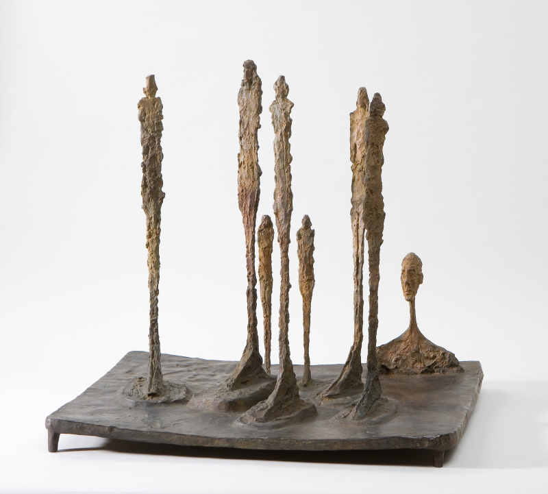 Alberto Giacometti - La Forêt - © Succession Alberto Giacometti (Fondation Giacometti, Paris + ADAGP, Paris) 2018 (2)