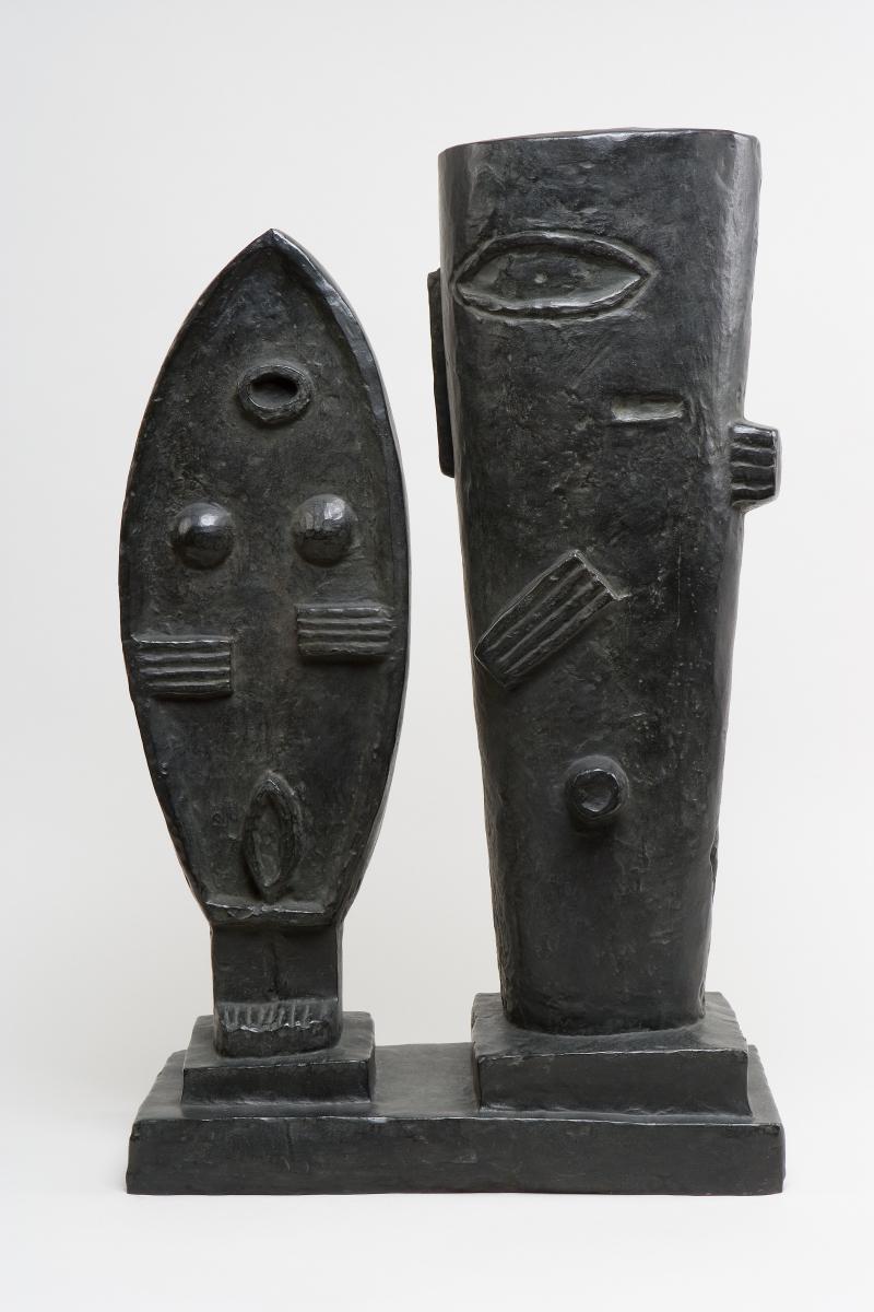 Alberto Giacometti - Le couple - © Succession Alberto Giacometti (Fondation Giacometti, Paris + ADAGP, Paris) 2018