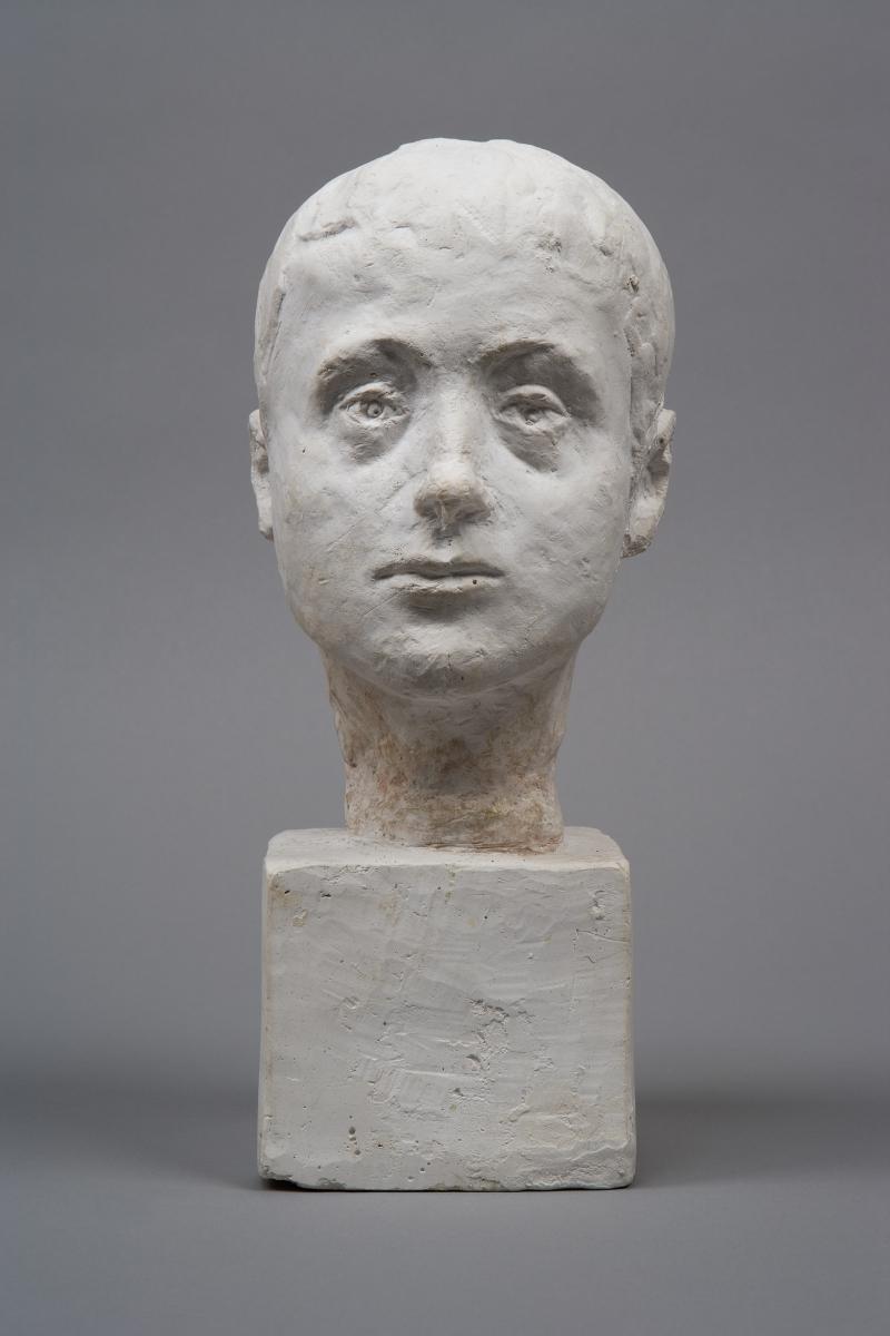 Alberto Gicometti - Tête De Diego, enfant - © Succession Alberto Giacometti (Fondation Giacometti, Paris + ADAGP, Paris) 2018