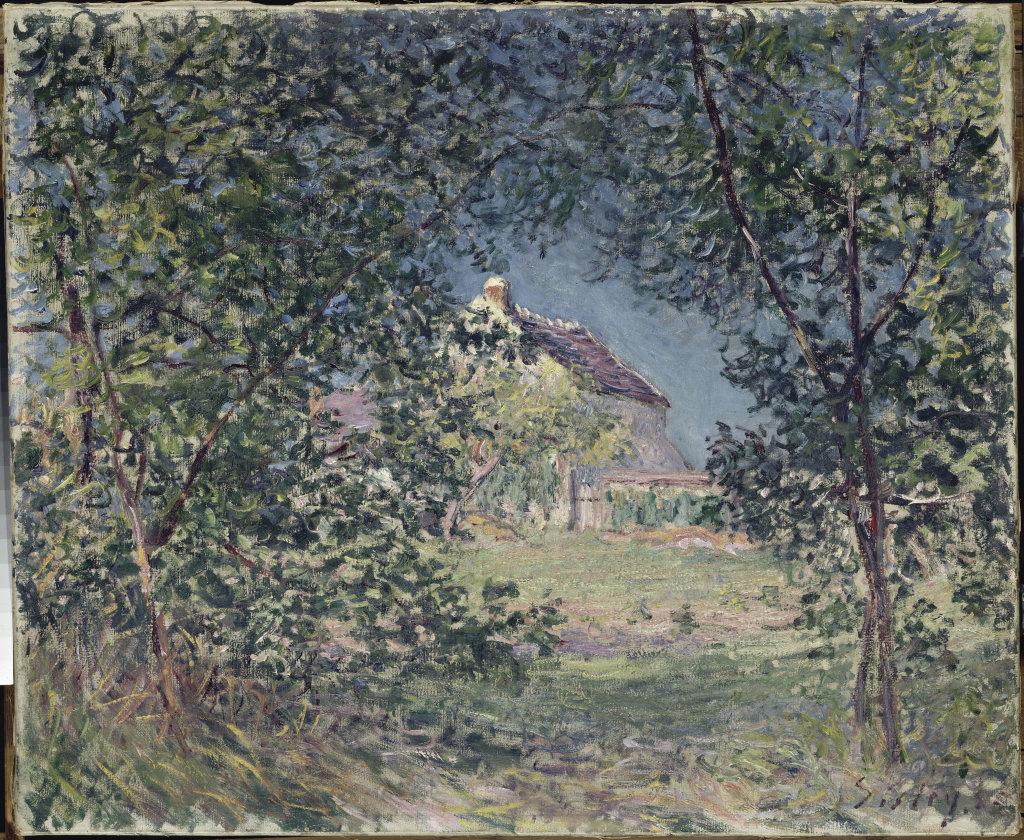 Sisley Alfred, Lisière de forêt au printemps