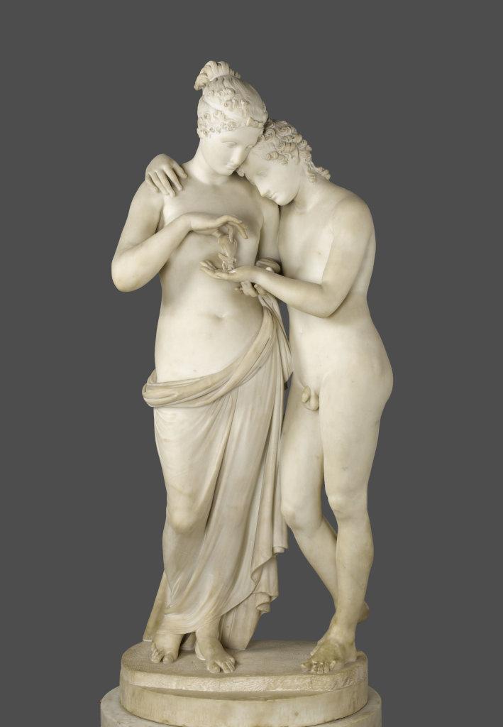 Canova Antonio, L'Amour et Psyché debout