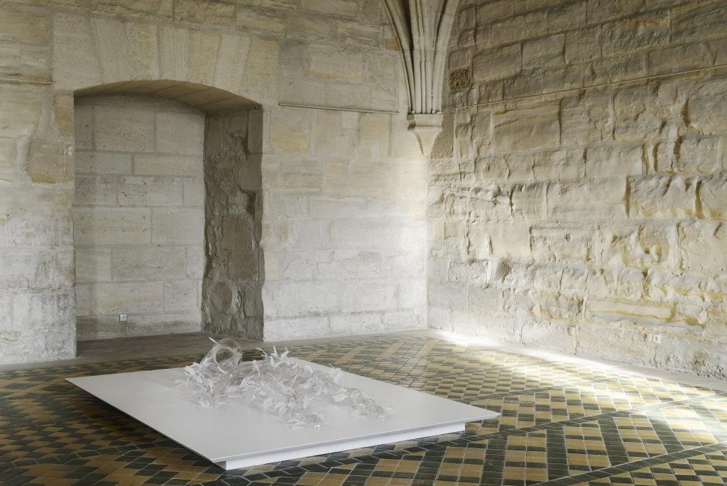 Armure, exposition de Patrick Neu a l abbaye de Maubuisson, Photo C. Brossais-CDVO (13)