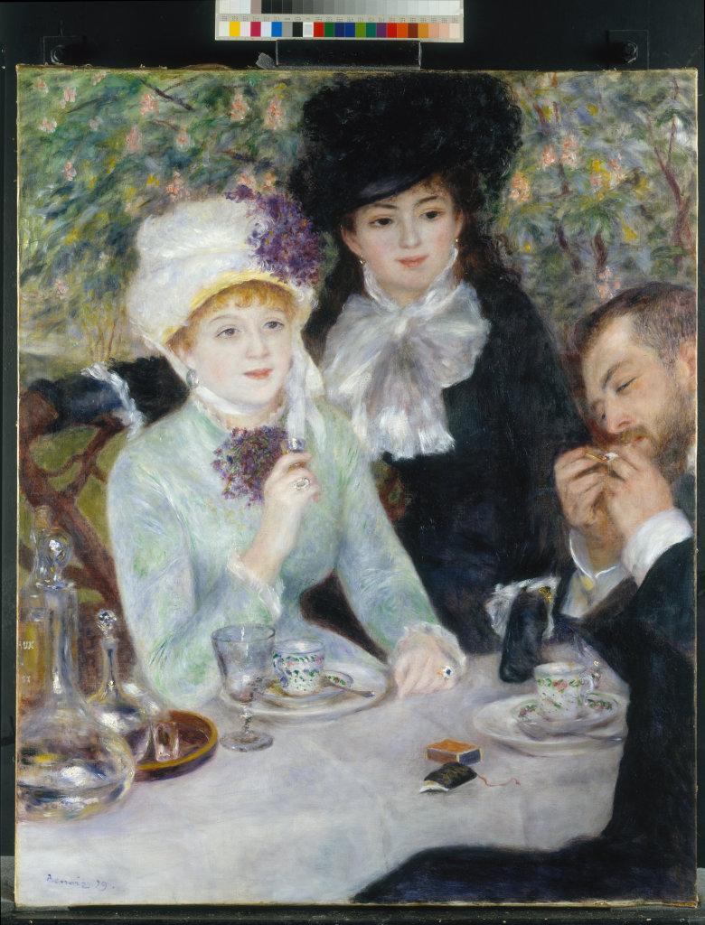 La fin du Déjeuner, 1879