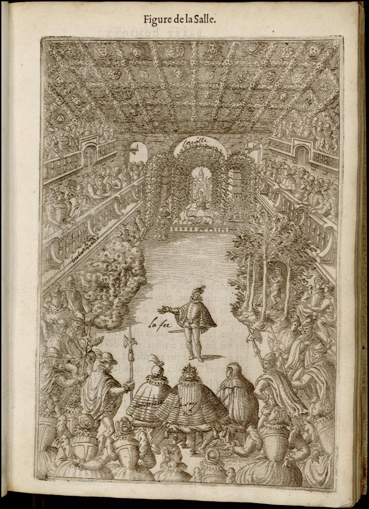 Balet comique de la Royne…, Balthasar de Beaujoyeulx, éd. Paris, Adrien Le Roy et Robert Ballard, 1582, Paris, INHA, coll. Doucet, Bibliothèque de l'Institut National d'Histoire de l'Art