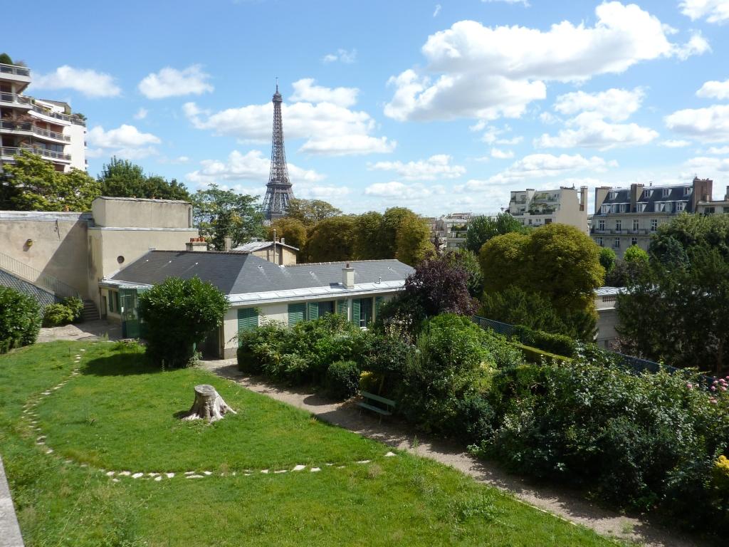 Vue de la Maison de Balzac
