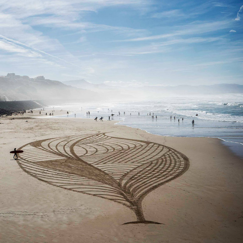 Beach art 3