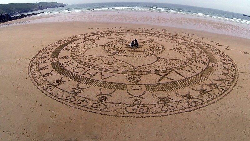 Beach art 5