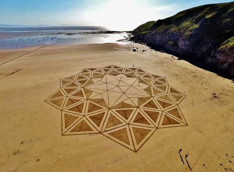 Beach art 6