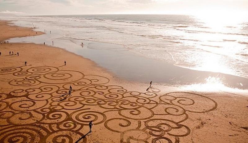 Beach art 7