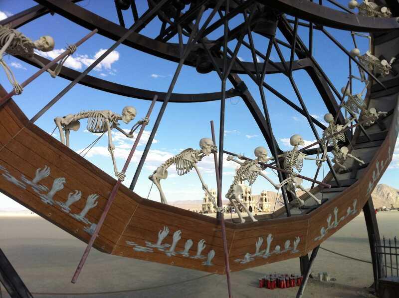 Burning Man 2017 Charon
