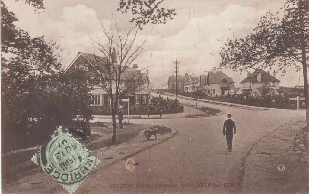 (c) Col Patrick Kamoun_Letchworth UK Cité jardin 1907