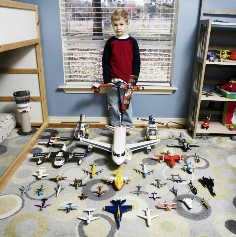 Noel Hawthorne, 5 anni - South Dallas, Texas (c) Gabriele Galimberti, Toy Stories