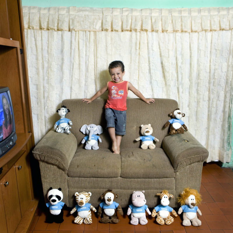 Gabriel Pascoal, 3 - Sao Paulo- Brasil (c) Gabriele Galimberti, Toy Stories