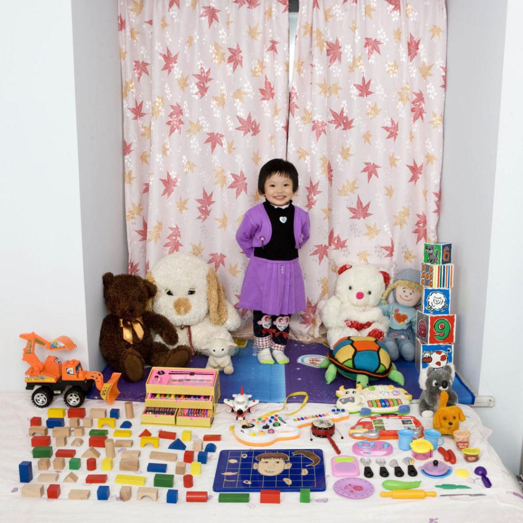 Cun Zi Yi, 3 years old