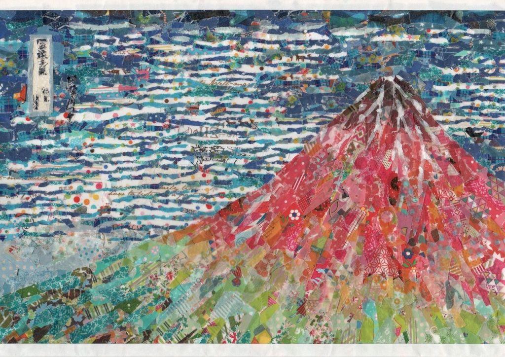 (c) Nasa funahara, Hokusai