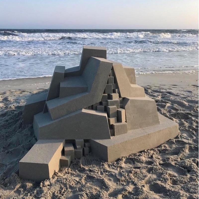 Châteaux de sable gigantesques, Calvin Seibert