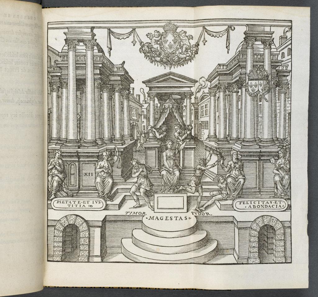 Entrée de Charles IX, éd. Paris, Denis du Pré, 1572, Écouen, musée national de la Renaissance