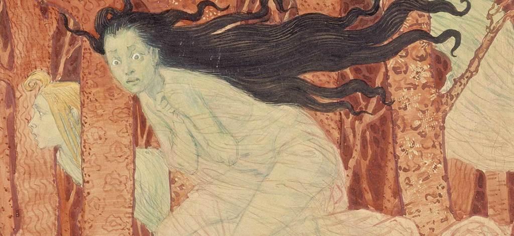 Eugene Grasset, Trois femmes et trois lupus