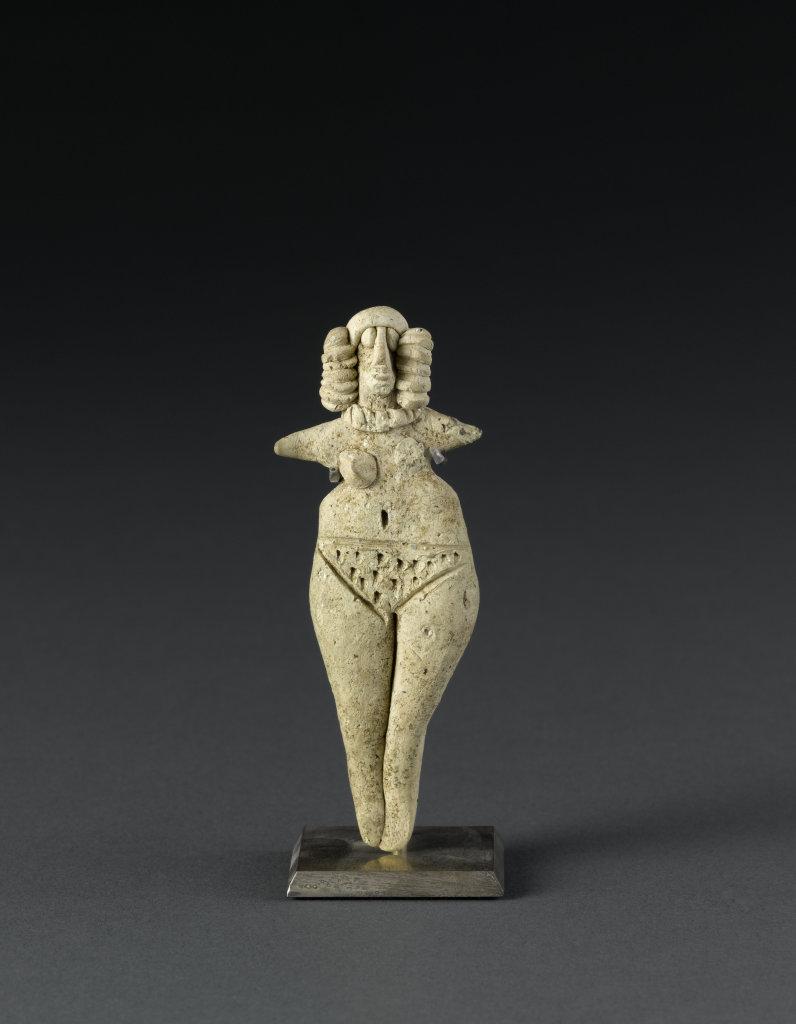 Femme nue aux bras en ailerons, musée du Louvre