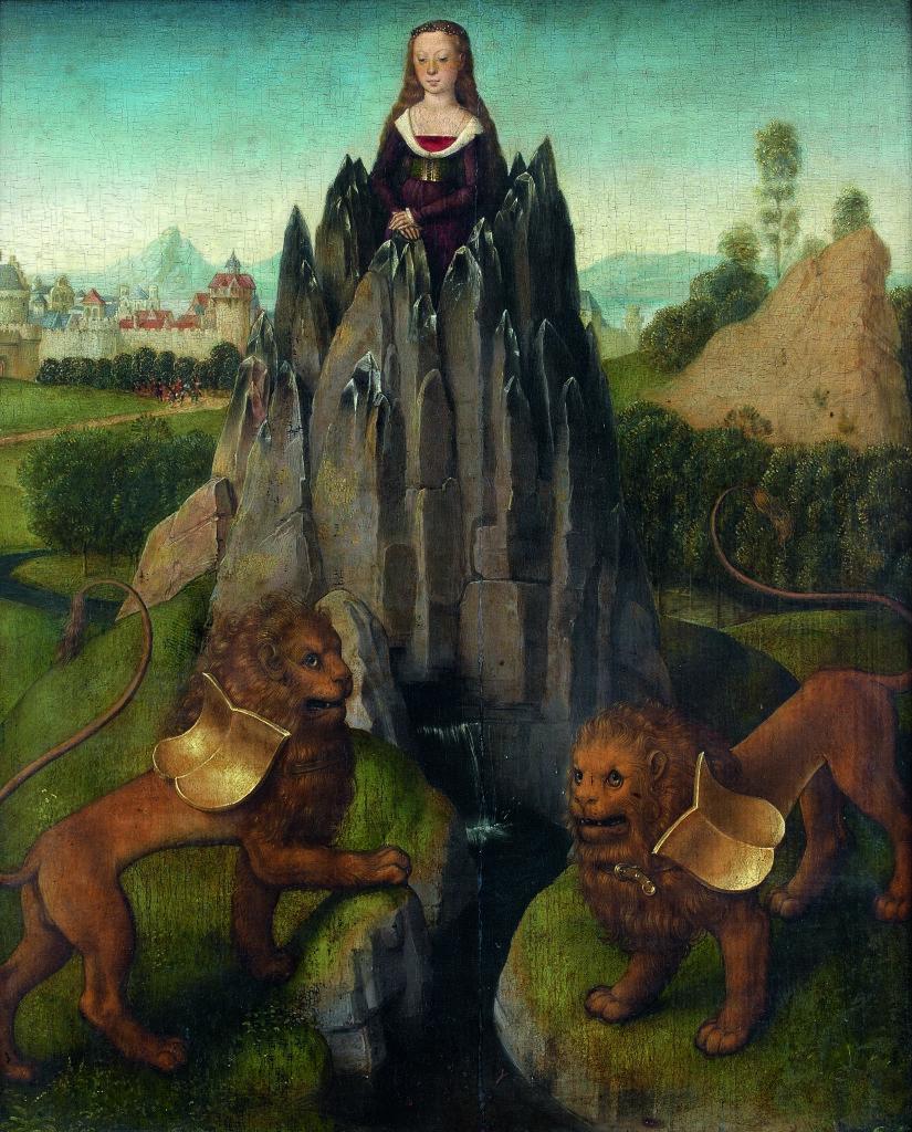 Hans Memling, Allégorie de la Chasteté, 1475
