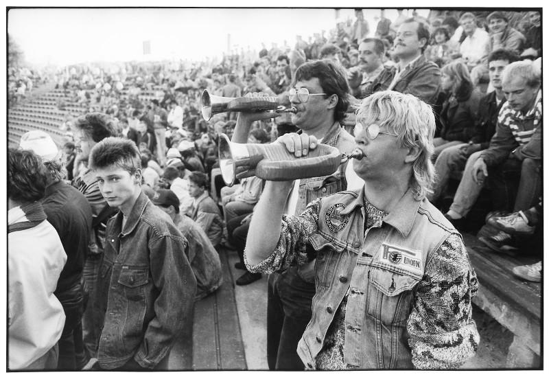 Union Berlin in der Alten Försterei, 1988, Berlin, DDR
