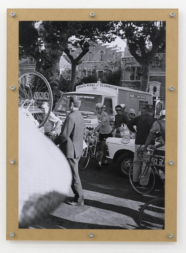 Jef Geys, « Le Tour de France 1969 d'Eddy Merckx », 1969-2015, © KAZINI et Air de Paris, Paris.