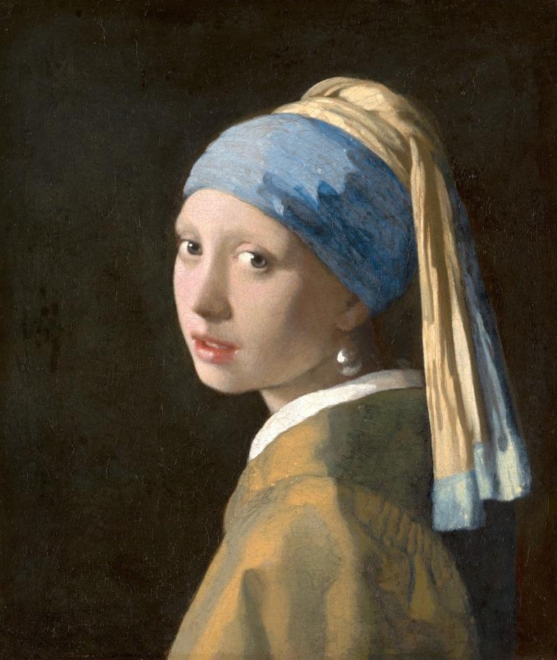 Jeune fille à la perle, Vermeer (c)