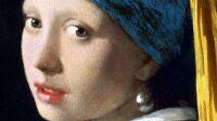 Jeune fille à la perle, Vermeer, gros plan