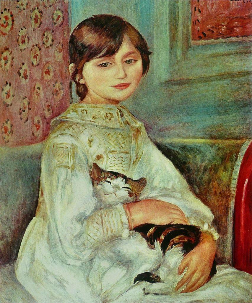 Auguste Renoir, Julie Manet, 1887