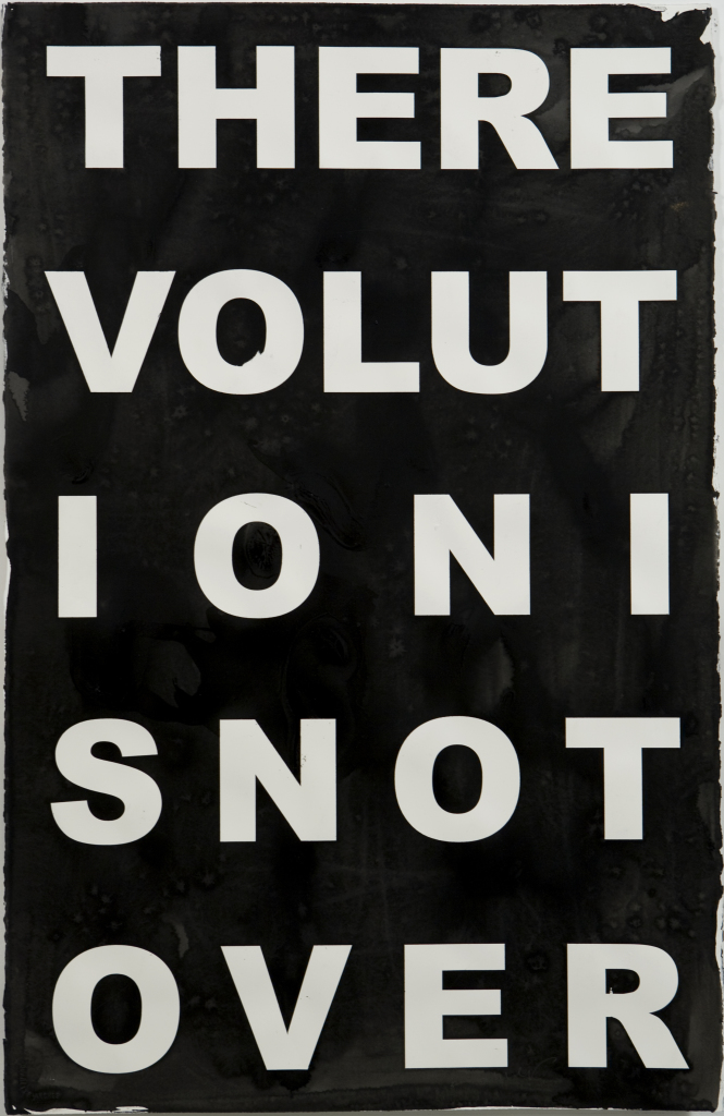 Kendell Geers, Virus (Revolution) 10, 2007. Courtesy of the artist and apolitical.