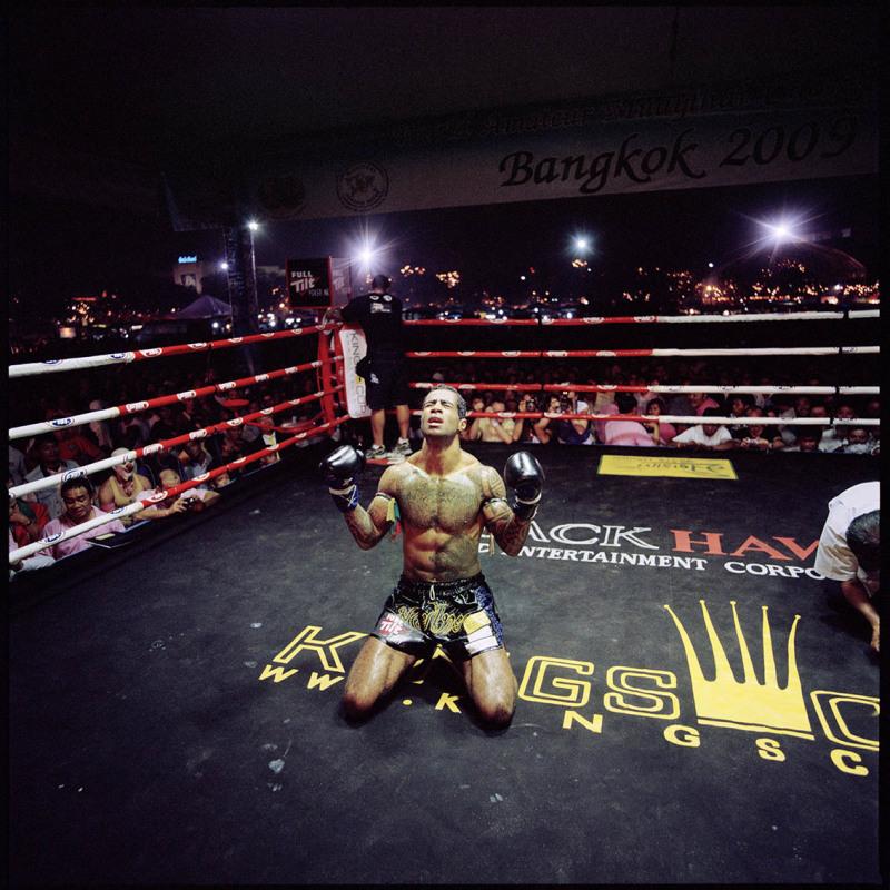 Alexandre Cosmo, vainqueur de la Kings Cup. Bangkok, place Sanam Luang. Le 5 décembre 2009.