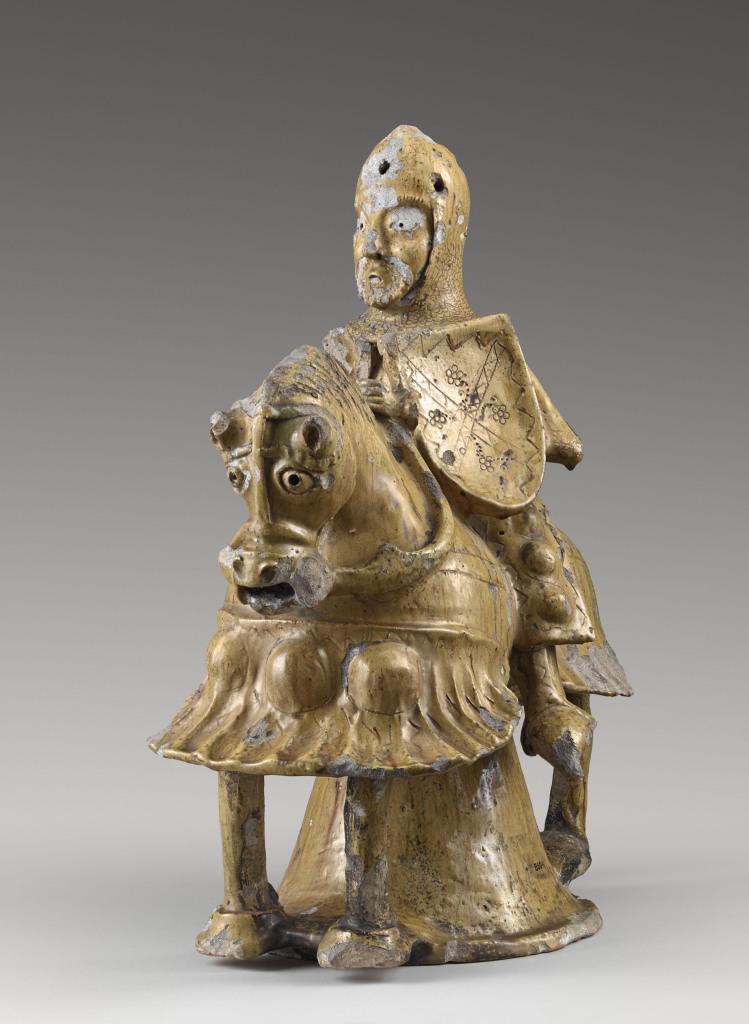 Le Cavalier de Sarcus, épi de faîtage du 13e-14e siècle