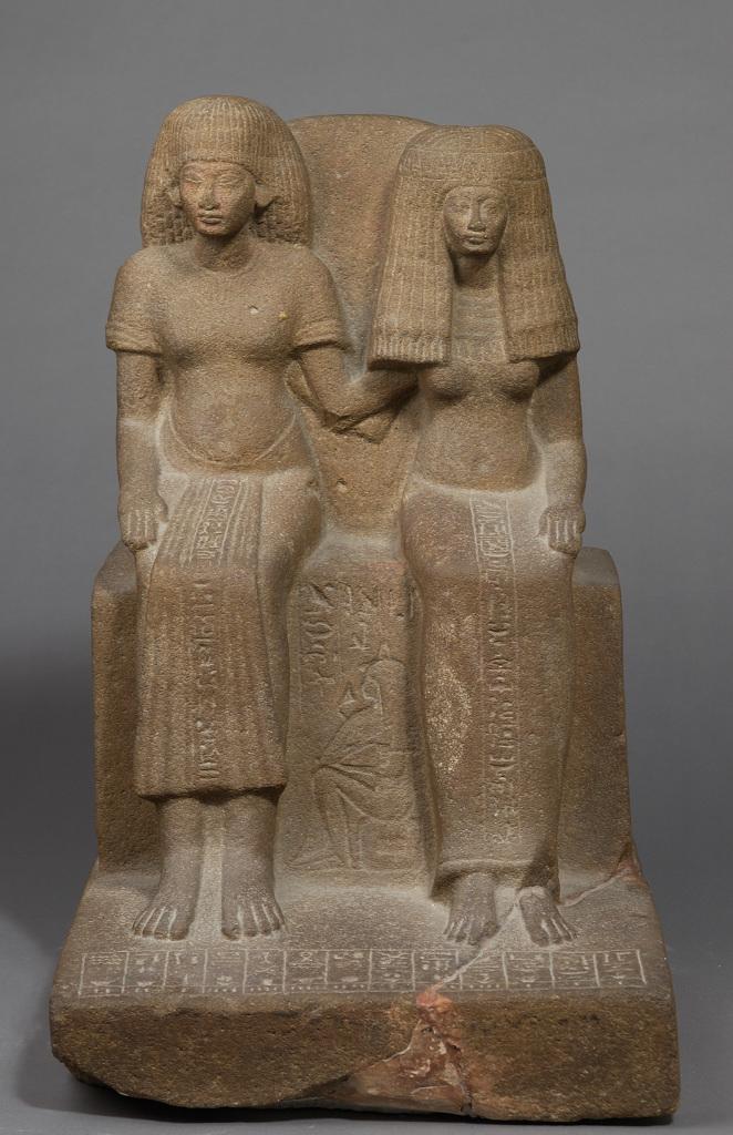 Le gardien du trésor Youyou et sa femme Tiy Égypte, vers 1391 -1353 av. J.-C.