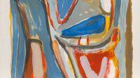 Bram  van  Velde,  Sans  titre,  1972.  Lithographie  9  couleurs.47  x  46  cm  –EA.  100  exsur  Arches  -Imprimerie  Pierre  Badey,  Paris.Donation  Rainer  MichaelMason  2015Collection  Musée  de  l'Hospice  Saint-Roch©Photo  A.  Ricci  ©Adagp,  Paris  2018