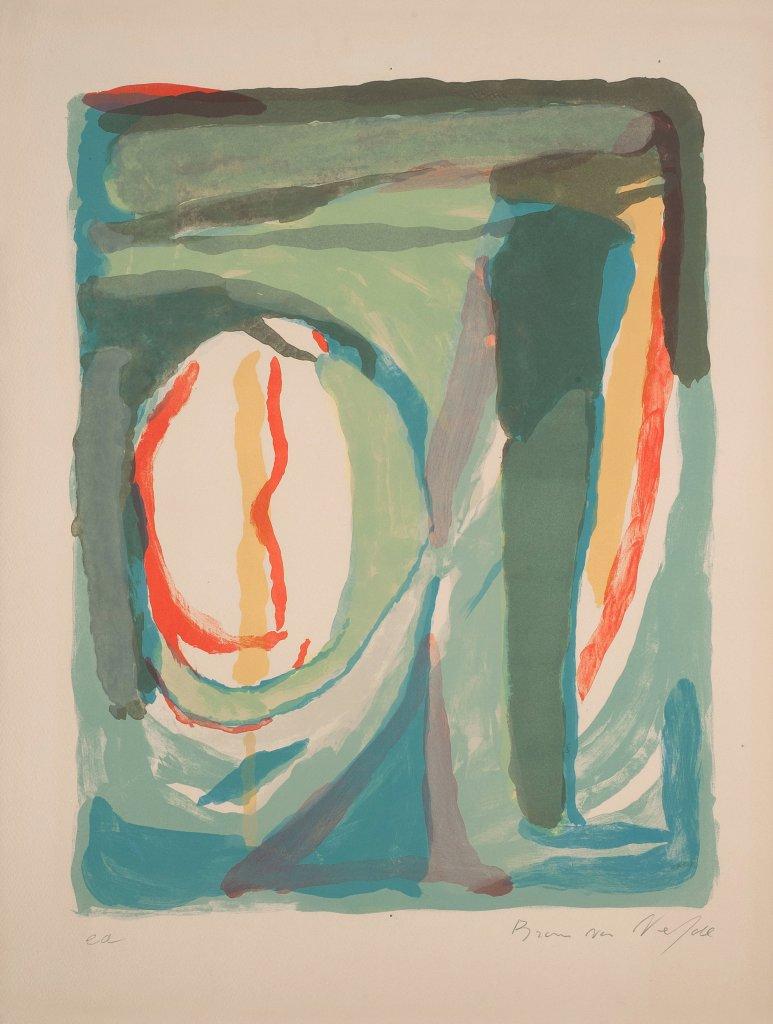 Lithographies 7 couleurs, Bram Van Velde
