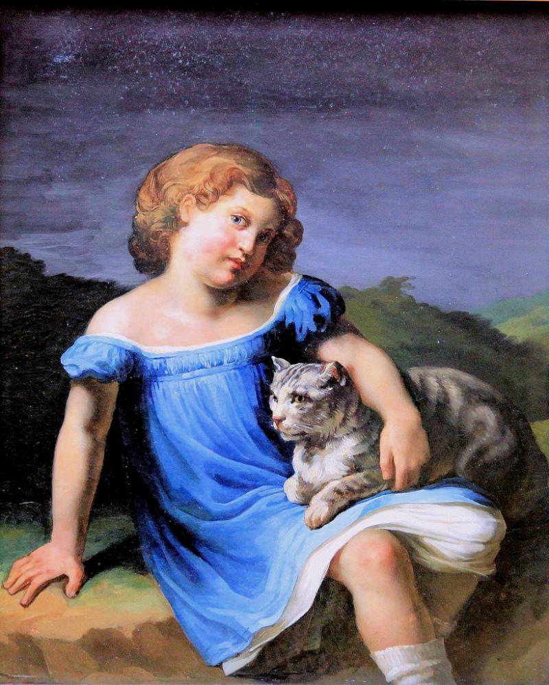 Théodore Géricault, Louise Vernet, 1824