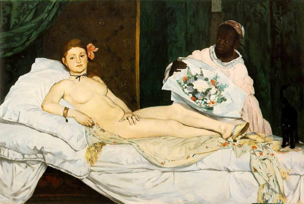 Manet Edouard, Olympia, 1863