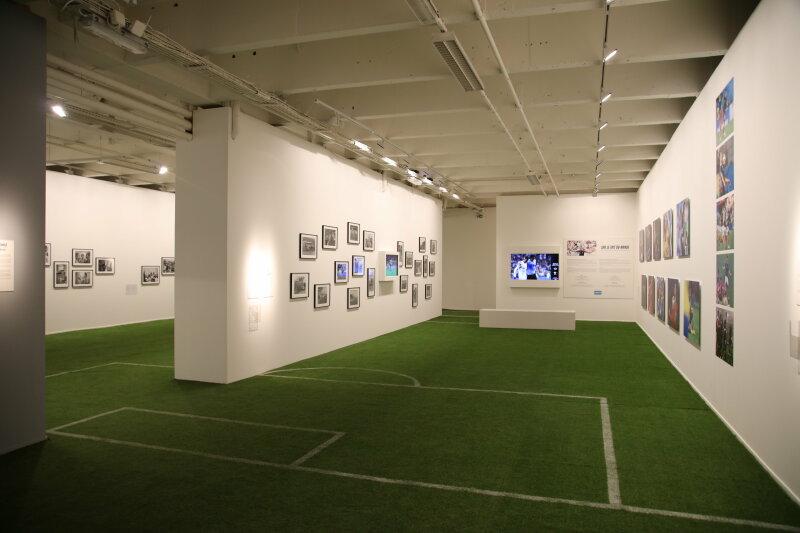 Vue de l'exposition SportFoto à Lille - Tripostal