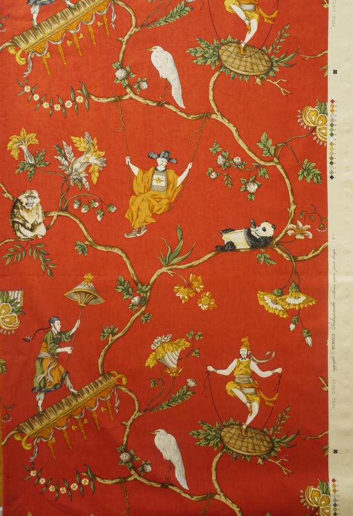 Ming circus, Scalamandré - Tissu