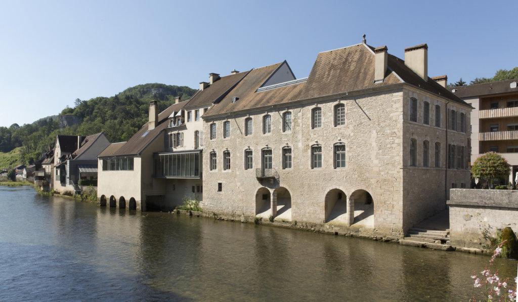 Vue du Musée Courbet, Ornans