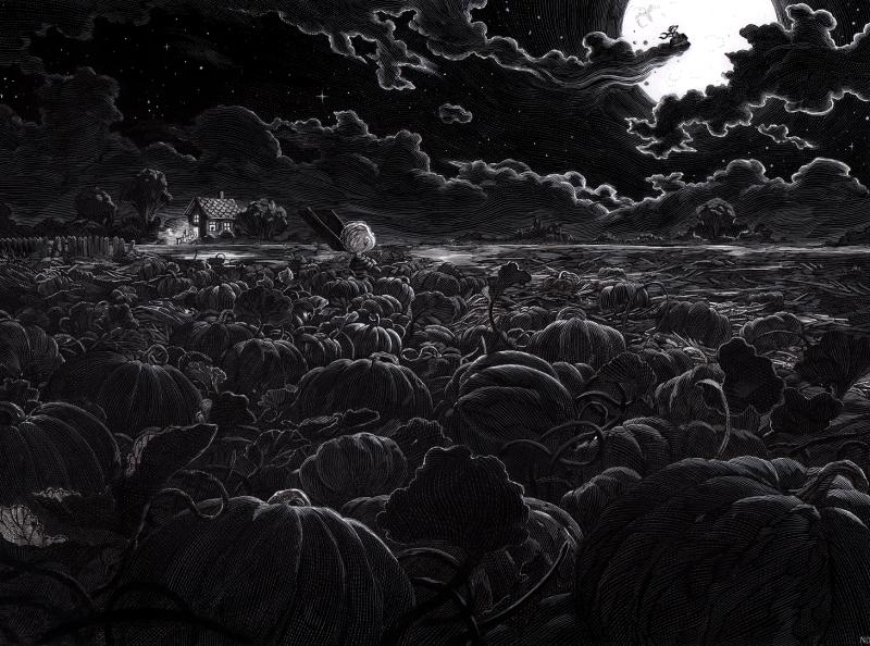 Nicolas Delort - The great pumpkin Charlie Brown