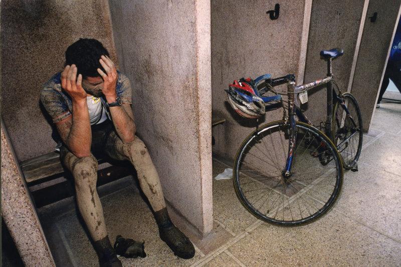 Cyclisme  Paris Roubaix 2006 - george Hincapie - photo Philippe Pauchet La Voix du Nord
