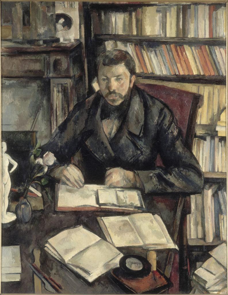 Paul Cézanne, Portrait de Gustave Geffroy