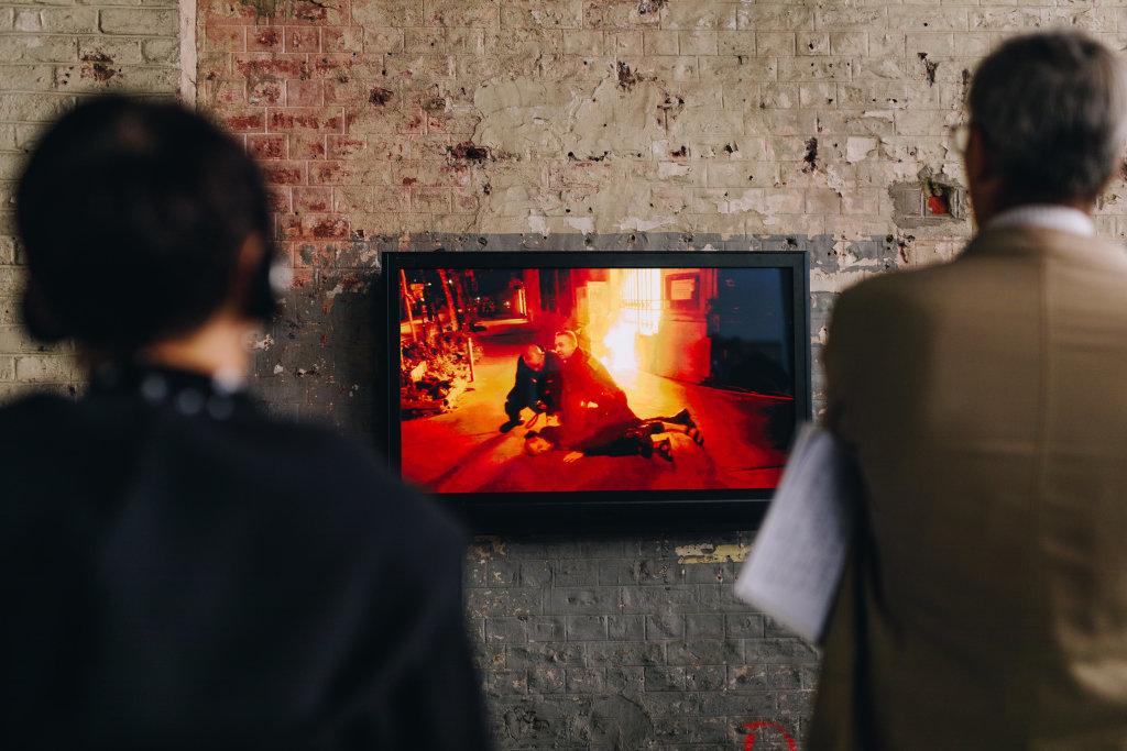 Petr Pavlensky, Eclairage, 2017, Archives de l'artiste