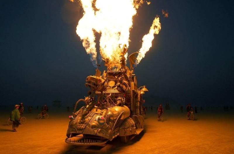 Rabid Transit, Burning man 2017 (c) Jim Bourg, Reuter