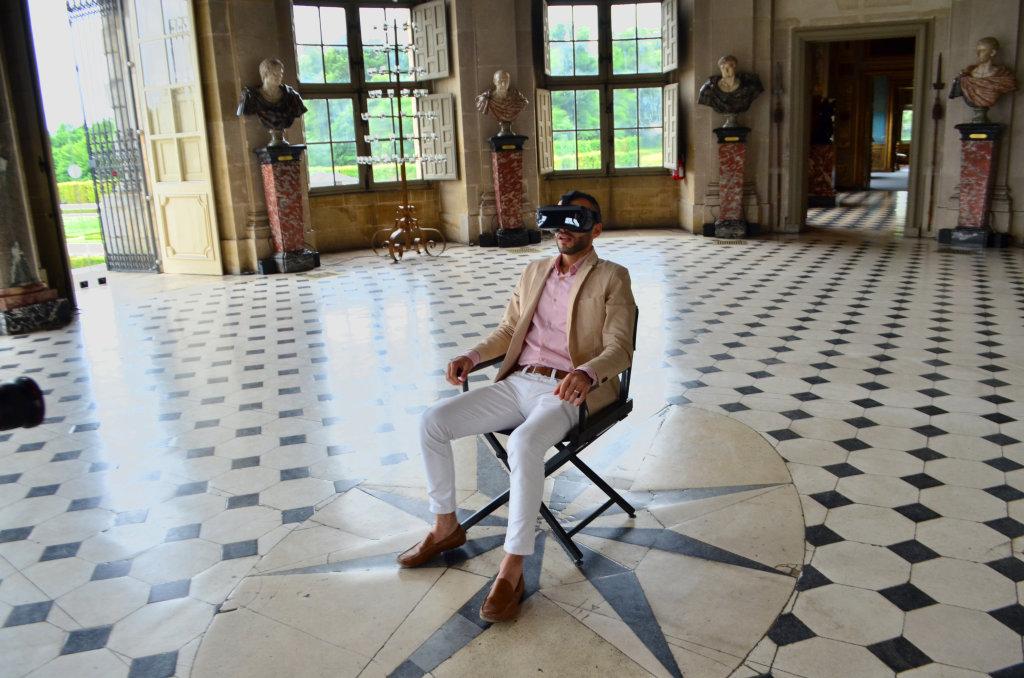 Réalité virtuelle au Château de Vaux-le-Vicomte