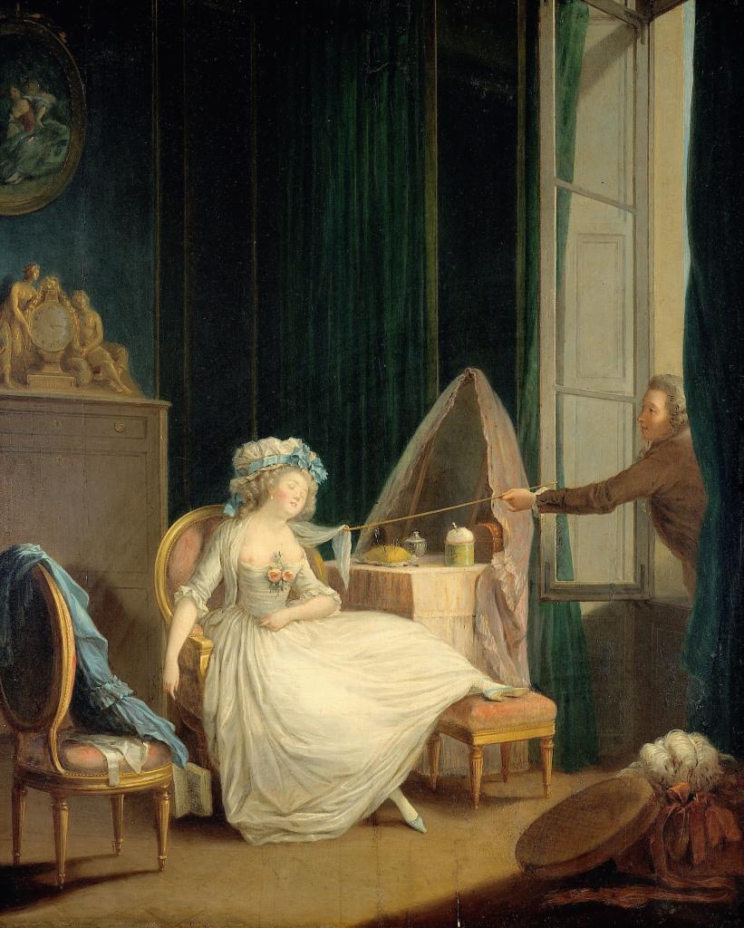 Jean-Frédéric Schall , L'Amour frivole, vers 1785