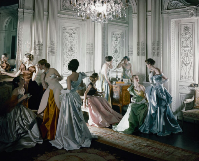 Cecil Beaton - French models in 1948