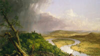 Thomas Cole, View from Mount Holyoke, Northampton, Massachussetts, after a Thunderstorm - The Oxbow, 1838 (c) The Metroploitan Museum of Art, New-York, photo by Juan Trujillo